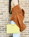 Michael Kors Jet Set East West Large Crossbody Sunshine Yellow - Gaby's Bags