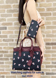 Kate Spade Cameron Street Medium Satchel Black Multi Floral - Gaby's Bags