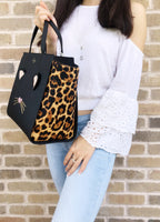 Kate spade Leopard Hayden Run Wild Cat Large Satchel Bag Crossbody - Gaby's Bags