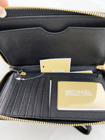 Michael Kors Giftable Large Multifunctional Phone Wristlet Black GIFT BOX - Gaby's Bags