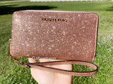 Michael Kors Giftable Large Multifunctional Phone Wristlet Rose Gold GIFT BOX - Gaby's Bags