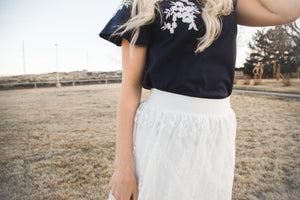 The Alice Lace Skirt