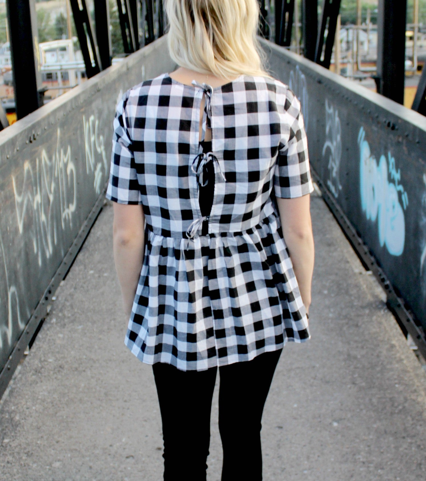 The Picnic Peplum Top