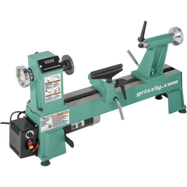 "Grizzly 12"" x 18"" Variable Speed Wood Lathe"