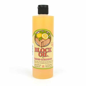 Block Oil for Wood & Bamboo - 12oz