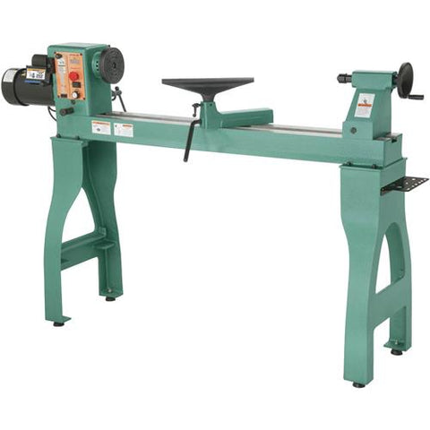"Grizzly 16"" x 42"" Variable-Speed Wood Lathe"