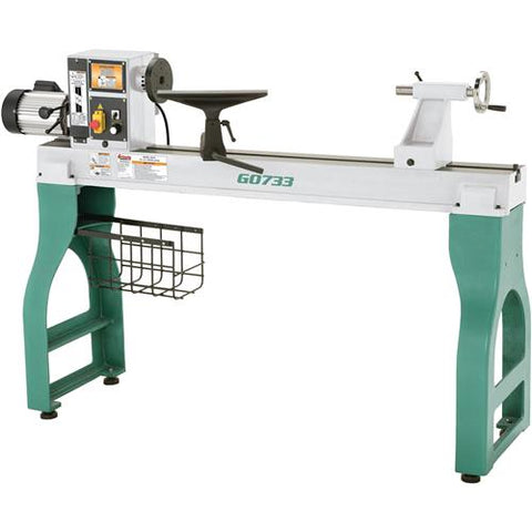 "Grizzly 18"" x 47"" Heavy Duty Wood Lathe"