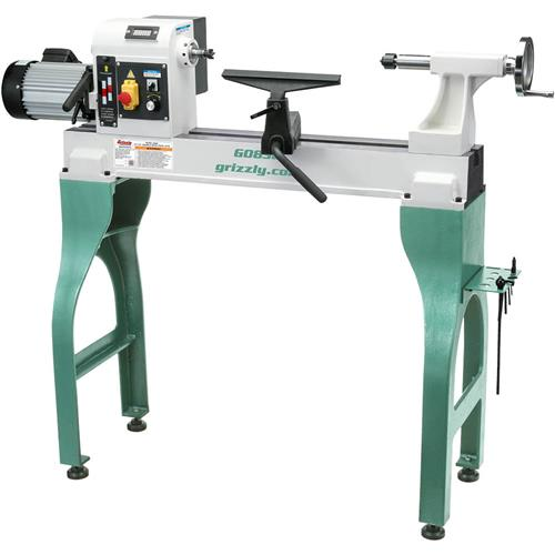 "Grizzly 16"" x 24"" Variable-Speed Wood Lathe"