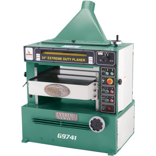 "Grizzly 24"" Extreme-Duty Planer"