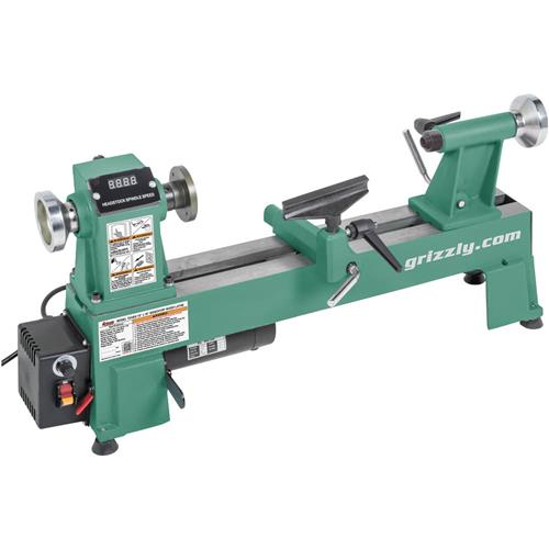 "Grizzly 10"" x 18"" Variable Speed Wood Lathe"