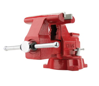 "Wilton Utility Workshop 5-1/2"" Vise with Swivel Base"