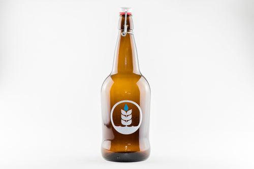 Glass Logo Growler