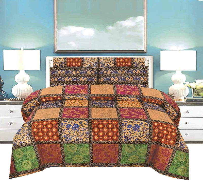 Single Pair Bed Sheet Design 100 - Chenab Stuff