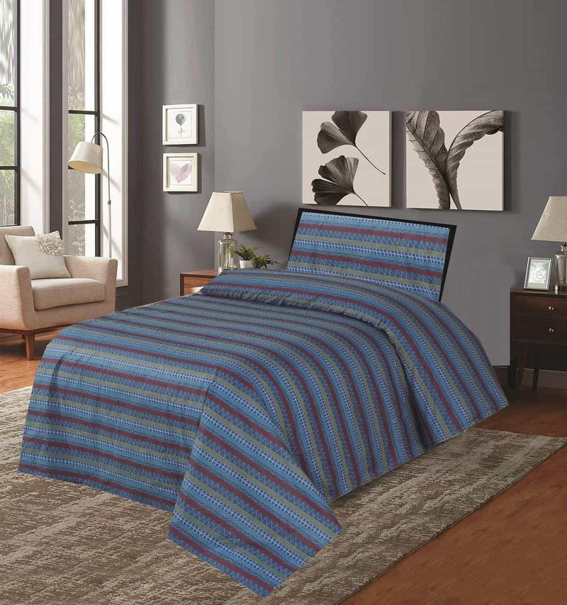 Single Bed Sheet Design 108 - Chenab Stuff