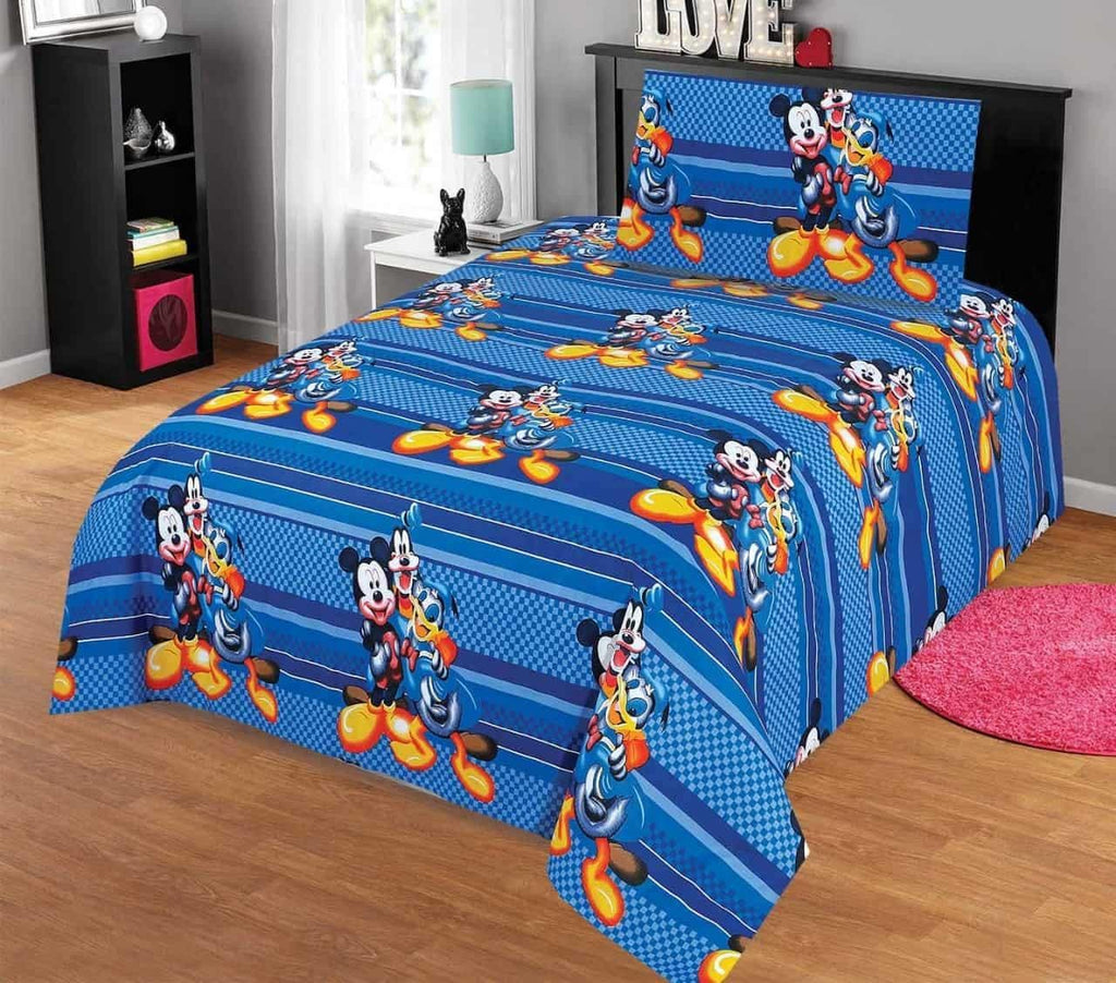 Kids Bed Sheet Design AK103