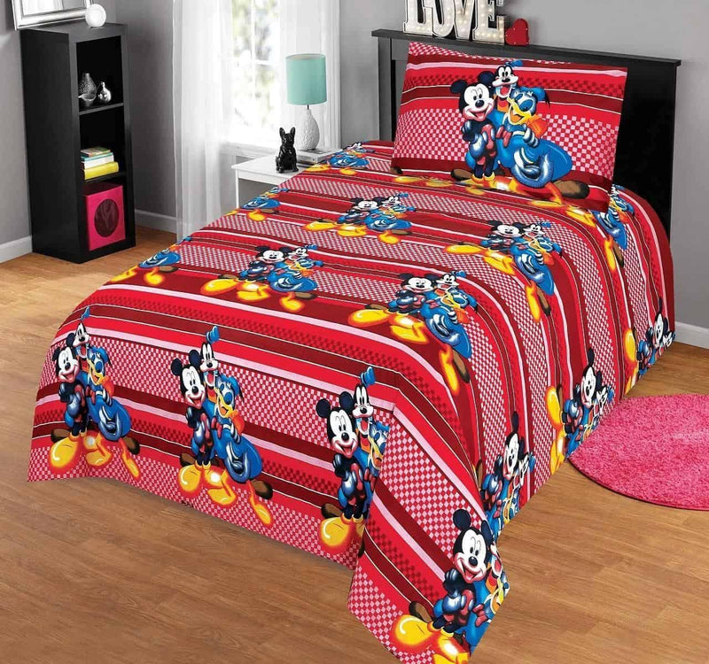 Kids Bed Sheet Design AK104 - Chenab Stuff