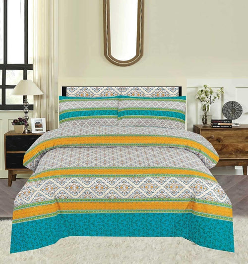 Bed Sheet Design AK 197 - Chenab Stuff