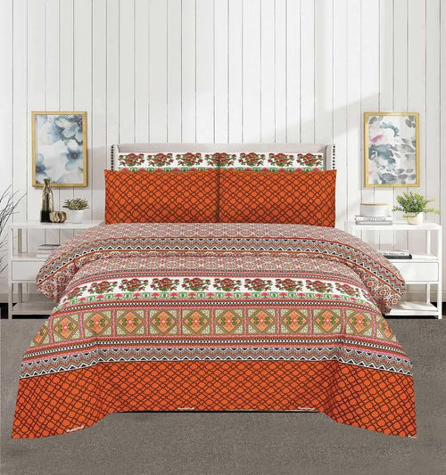Bed Sheet Design AK 198 - Chenab Stuff