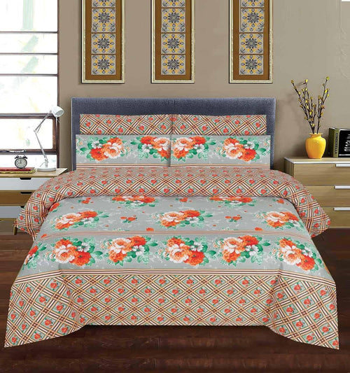 Bed Sheet Design AK 199 - Chenab Stuff