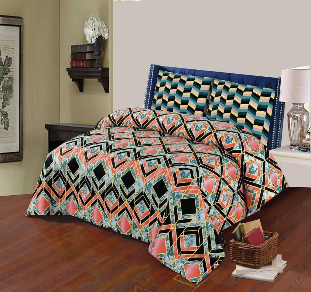 Bed Sheet Design AK 203