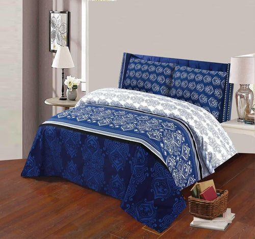Bed Sheet Design AK 204 - Chenab Stuff