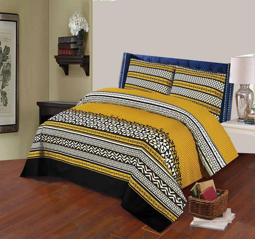 Bed Sheet Design AK 206 - Chenab Stuff