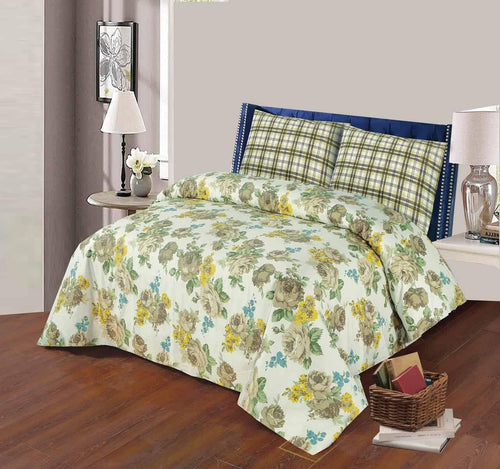 Bed Sheet Design AK 207 - Chenab Stuff