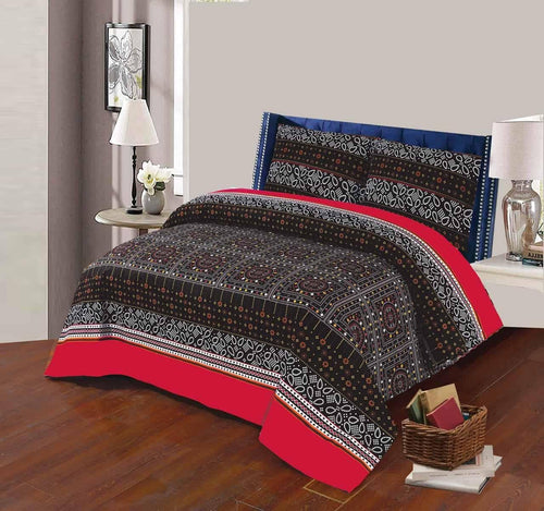 Bed Sheet Design AK 208 - Chenab Stuff