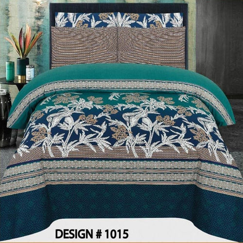 Bed Sheet Design AMJ-N-1015 - Chenab Stuff