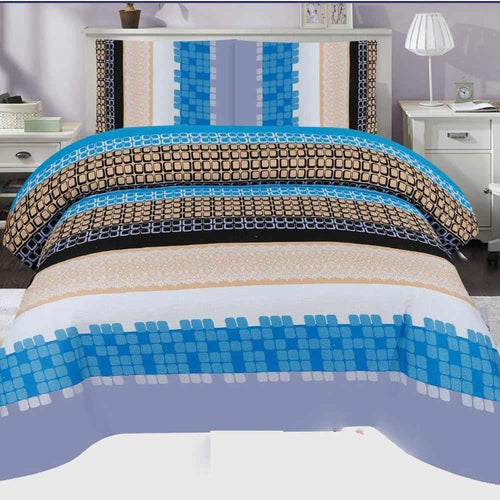 Bed Sheet Design AMJ-N-706 - Chenab Stuff
