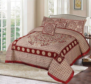 Foamy Velvet Bed Set Design HF#009