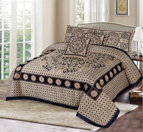 Foamy Velvet Bed Set Design HF#010 - Chenab Stuff