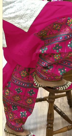 Khaadi K-11 Shocking Pink Embroidered Lawn two piece Summer Collection