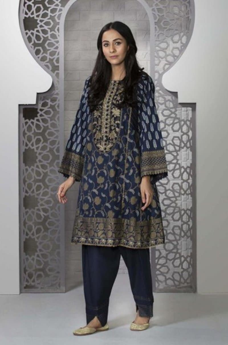 Spphire SP-5806 Embroidered Three Piece Linen Collection