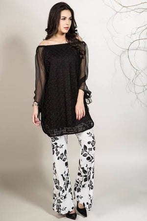 Maria B MB-1679 Embroidered Linen two piece Winter Collection