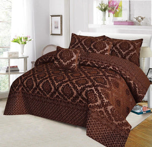 Palasche Quilted Piping Bed Set Design HF#027