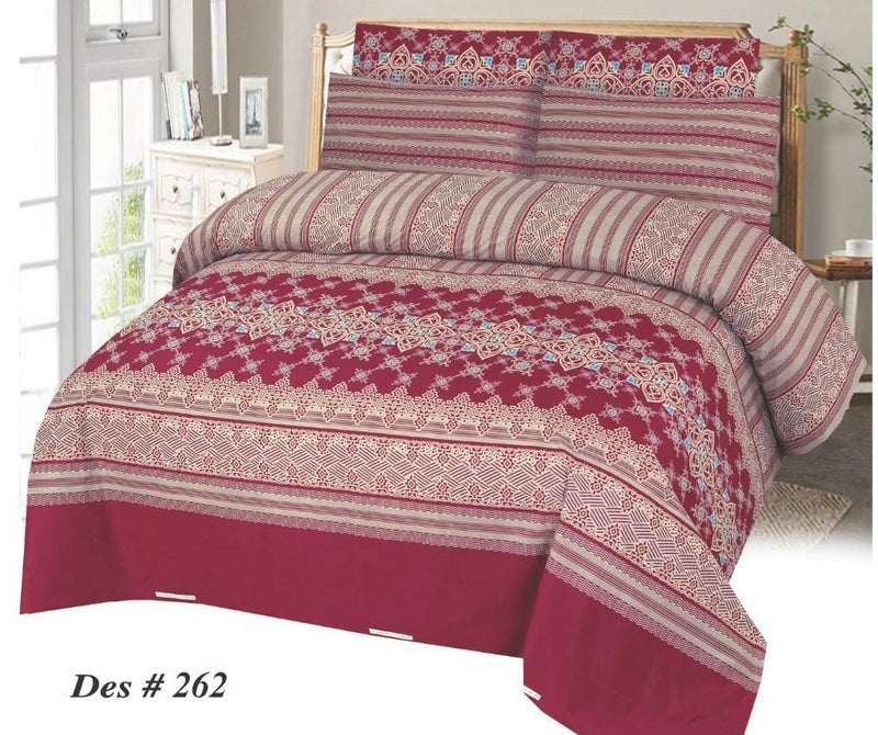 Bed Sheet Design SC-GA-262 - Chenab Stuff