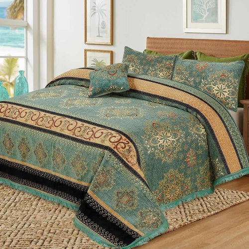 4 Pcs Velvet Bridal Bed Sheet D#WV003 - Chenab Stuff