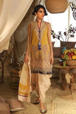 Sana safinaz SS-1901Y Linen three piece suit Winter Collection - Chenab Stuff