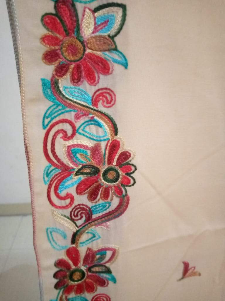 D-1005 Embroidered Shawl Casual Wear Summer Collection