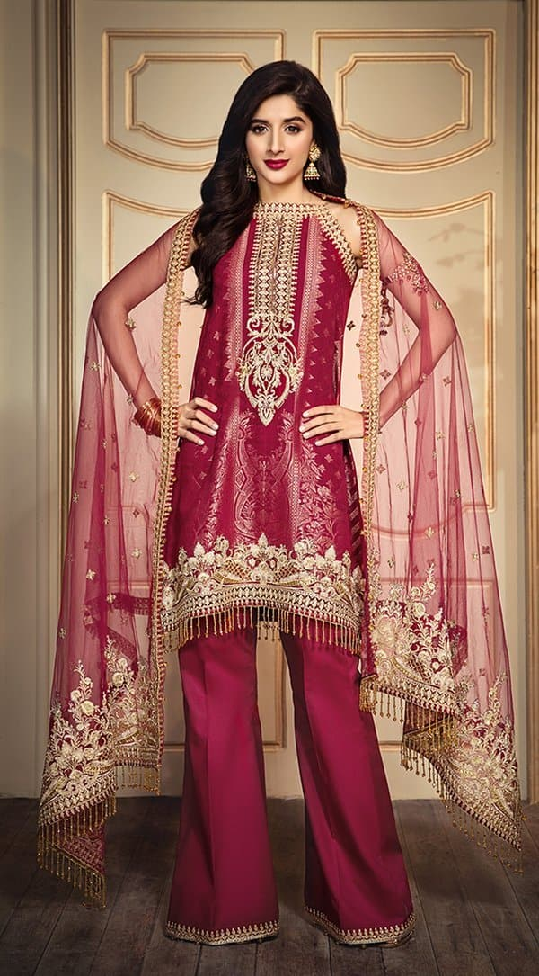 Anaya AN-1615 Embroidered Three Piece Lawn Collection