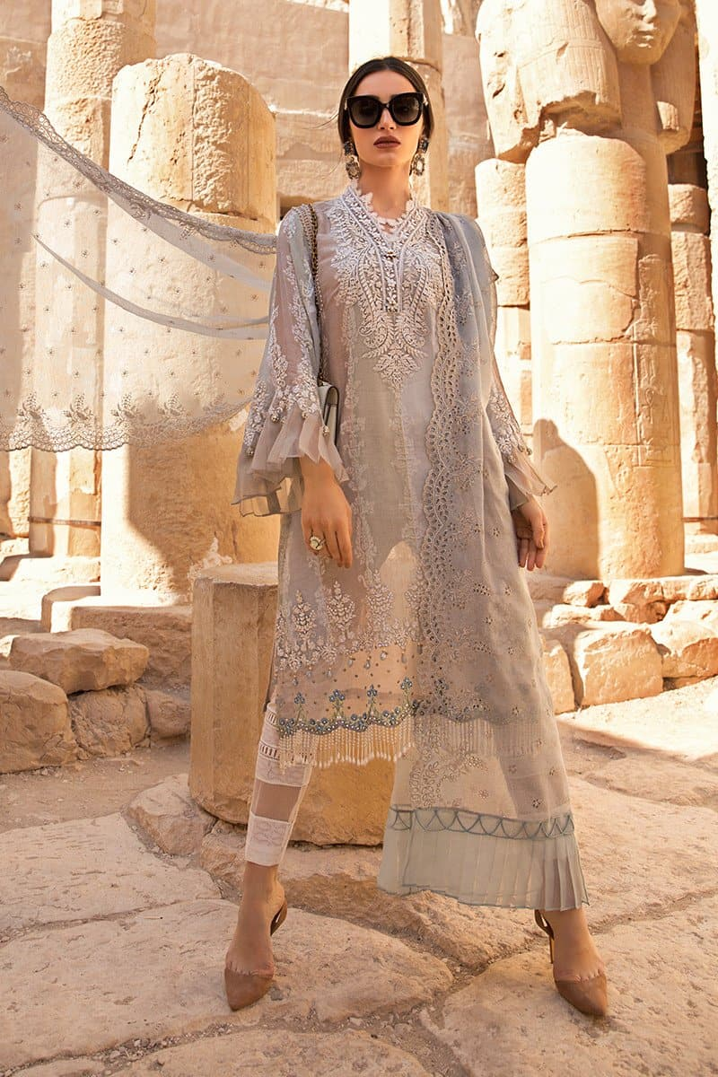 Maria B MB-2014B Lawn Three Piece Suit Lawn Collection