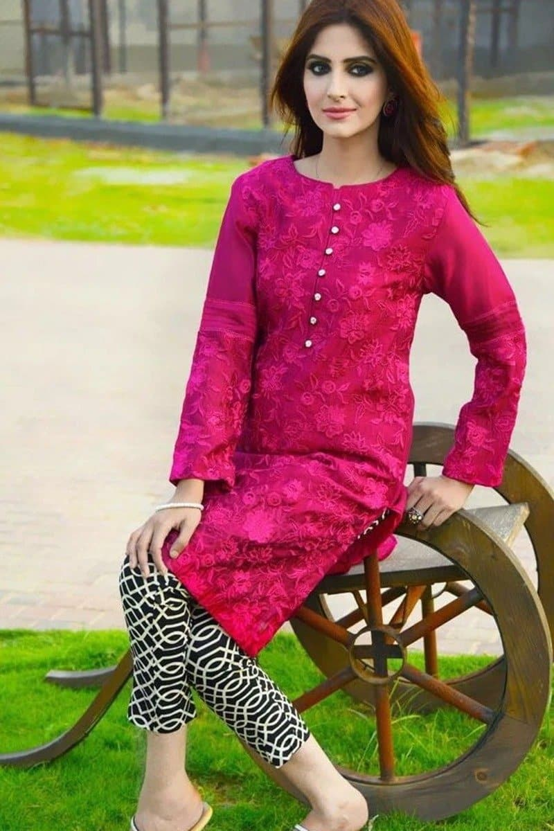 Nimsay NM-02 Embroidered Lawn two piece Summer Collection