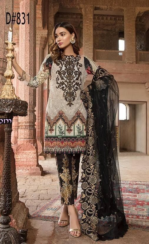 Sifona SF-11 Embroidered Three Piece Lawn Collection