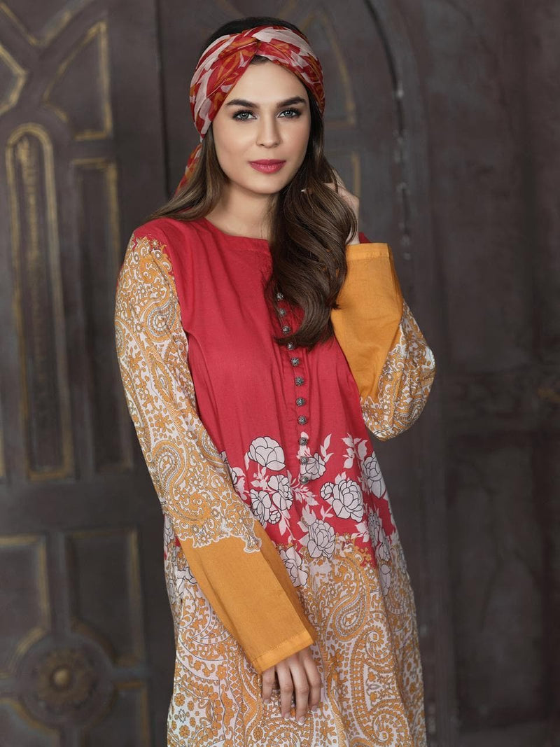 Limelight LT-3354 Embroidered Lawn two piece Winter Collection
