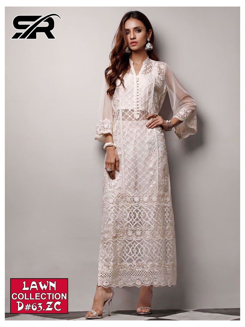 Zainab Chottani SR-68 Embroidered Three Piece Lawn Collection