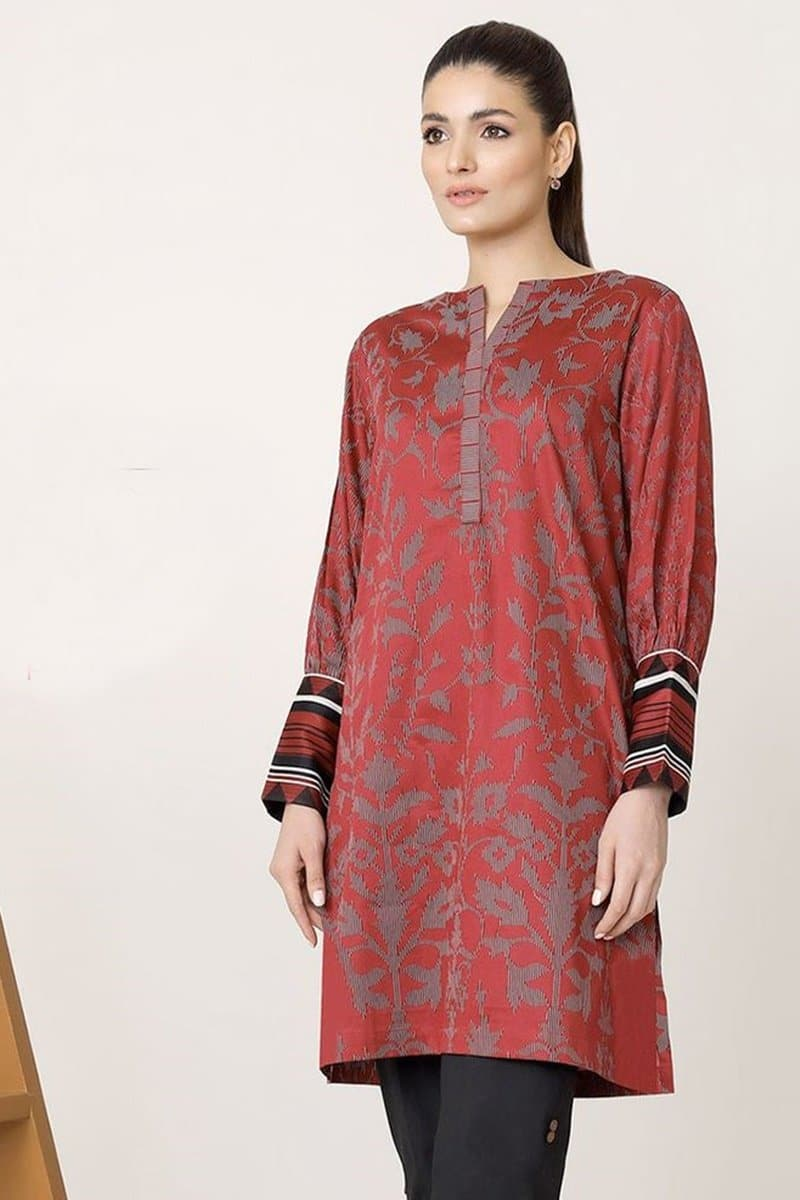 Al Karam AKL-05(linen) Embroidered Linen two piece Winter Collection