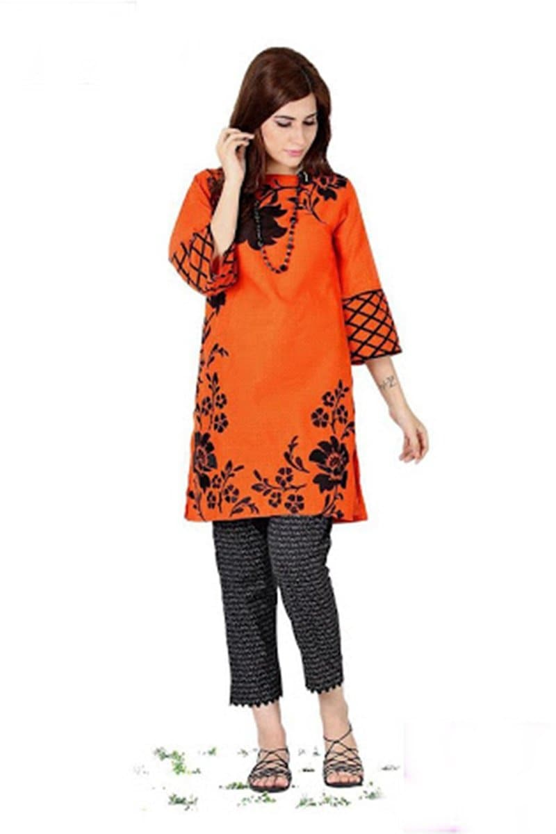 Maria B MB-10(linen) Embroidered Linen two piece Winter Collection