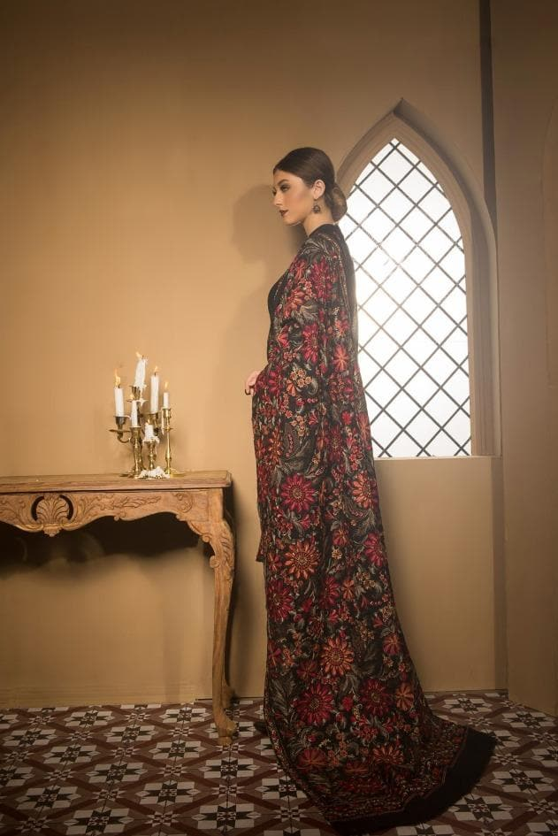 Bareeze Br-0009 Formal Heavy Embroidered Karandi Lawn shawl