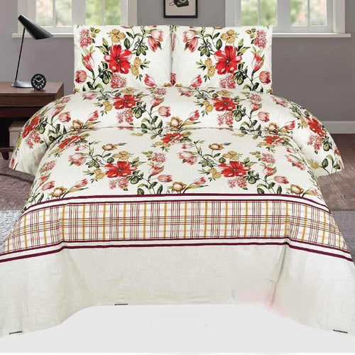 Bed Sheet Design AMJ-N-710 - Chenab Stuff